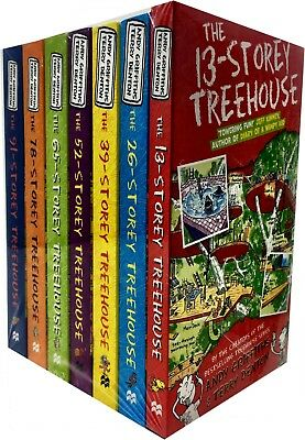 New Andy Griffiths 13-Storey Treehouse Series Collection 7 Books Set Gift Pack