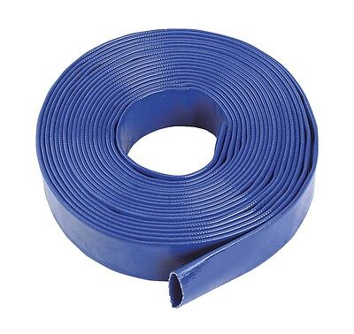 Blue Pvc Layflat Hose-Water Discharge Pump / Irrigation / Lay Flat Delivery Pipe