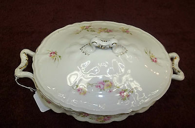 """Weimar Germany Long Covered Casserole Dish 5"""" High  By 9"""" Long"""