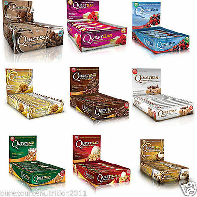 Quest Nutrition Protein Bars Bar 12 x 60g High Whey Supreme Natural