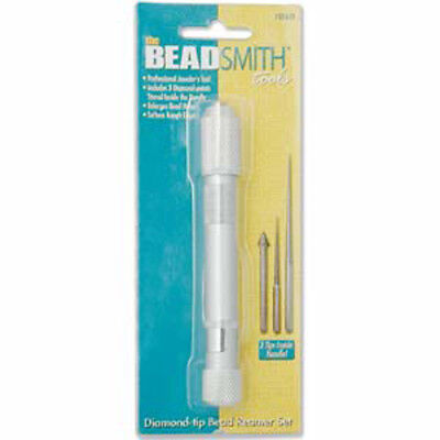 Diamond Coated Bead Reamer economy set - in container - Beadsmith