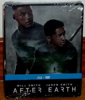 After Earth Combo Blu-Ray+Dvd Steelbook Precintado Nuevo Accion (Sin Abrir) R2