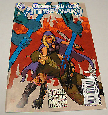 Green Arrow and Black Canary #2 Variant DC Comics