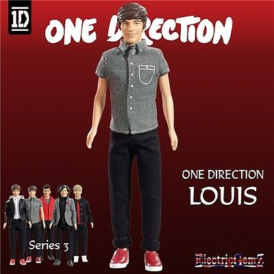 Official Louis Tomlinson Wave 3 One Direction 1D Collector Fashion Doll In Stock
