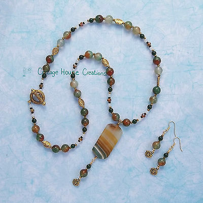 ~ Sabine ~Jewelry Making Supplies Bead Kit With Step by Step Photo Instructions