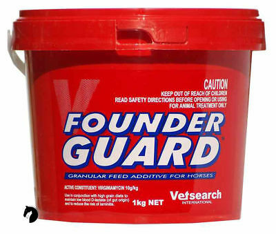 Founder Guard founderguard Horses Pony laminitis sore hoofs preventitive 1kg