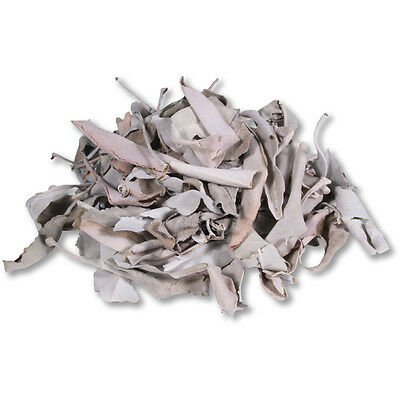 Organic Loose White Sage Smudging Healing Clearing Negative energy NEW 25 grams