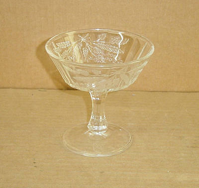 EAPG CRYSTAL WHEAT & BARLEY JELLY COMPORT BRYCE BRO 1880'S