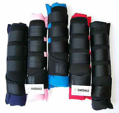 Horse Stable Boots / Wraps, Set Of Four In 5 Beautiful Colour. From Amidale