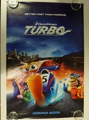Turbo Animation Ryan Reynolds Advance Original Movie Poster One Sheet 69x102cm