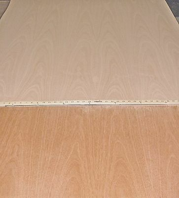 "Mahogany African wood veneer 24"" x 24"" on paper backer 1/40th"" thick ""A"" grade"