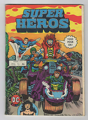 ► Super Heros N°3 - 1979 - Aredit  Dc