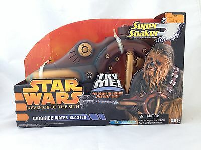 Star Wars Revenge of the Sith Wookiee Water Blaster Super Soaker 2005 VERY RARE