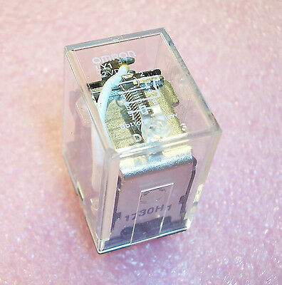 Qty (4)  Ly1-12Vdc Omron 12V General Purpose Plug In Relays Ly1-Dc12 Free Ship