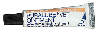 Puralube Vet Ointment 3.5 gram Ophthalmic Eye Lubricant by Dechra
