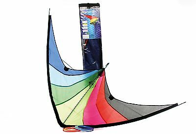 New 1.2M Wingspan Easy To Fly 2 Line Stunt Kite