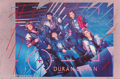 Poster :music : Duran Duran  - All 5 Posed - Free Shipping !    Rap6 A