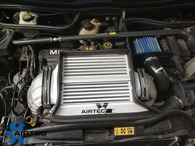 AIRTEC Mini Cooper S R53 Top Mount Intercooler Upgrade Silver Finish