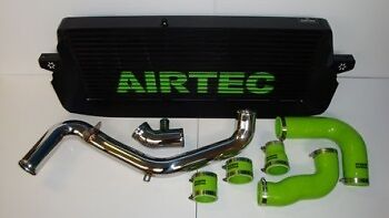 Ford Mk2 Focus RS Airtec Black Intercooler with 2.5inch Alloy Boost Pipe Kit