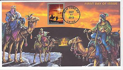 Jvc Cachets - 2013 Holy Family Christmas Issue First Day Cover Fdc #1