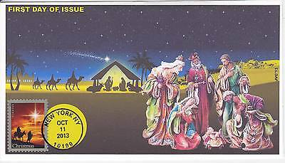 Jvc Cachets - 2013 Holy Family Christmas Issue First Day Cover Fdc #2