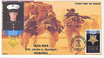 Jvc Cachets - 2013 Medal Of Honor Military War  Issue First Day Cover Fdc #4