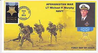 Jvc Cachets - 2013 Medal Of Honor Military War  Issue First Day Cover Fdc #2