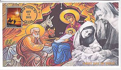 Jvc Cachets - 2013 Holy Family Christmas Issue First Day Cover Fdc #3