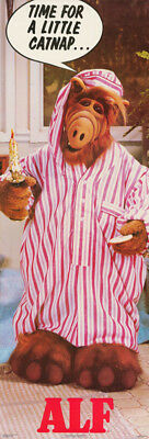 Door Poster :tv: Alf - Time For A Little Catnap    -   Free Shipping !   Rap13 B
