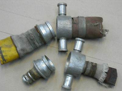 Fire Hose Couplings Pairs,Used ex army,Aluminium