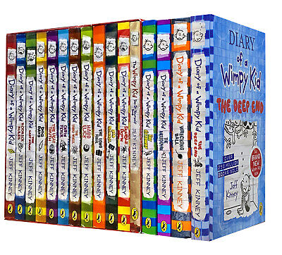 Diary of a Wimpy Kid 2 Books Collection Set The Meltdown, The Getaway - HB