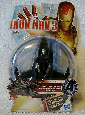 Lot of 2 Iron Man 3 Arc FX Wrist Repulsor PLUS War Machine Battle Charger *NIP*
