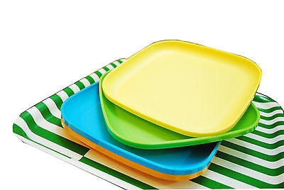 TUPPERWARE Microwave Luncheon Plates ( Set of 2 Plates ) - Free Shipping - NEW