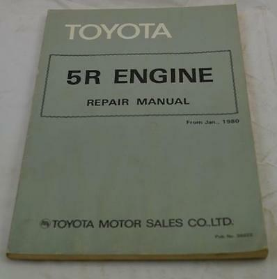 Toyota 5R ENGINE Repair Manual 1980 CROWN STOUT TOYOACE and DYNA
