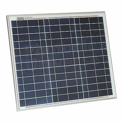 30W solar panel with 5m cable for motorhome, caravan, camper, boat or off-grid