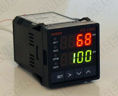 1/16 Din Universal Pid Temperature Controller 12-30V Dc Pwr