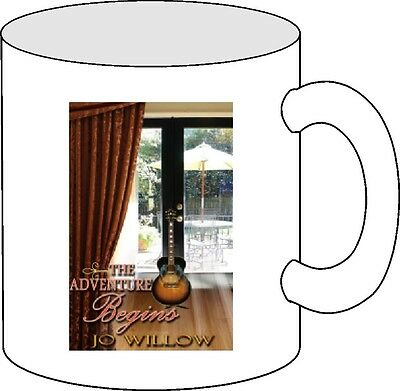 Jo Willow - The Adventure Begins coffee mug!  Customize it!