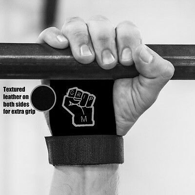 iGRIP crossfit / gymnastics hand grip guards /palm protectors / leather glove