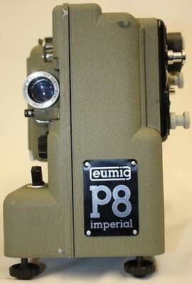 Eumig Imperial P8 Movie Projector for 8mm film In Original Case Near to Mint