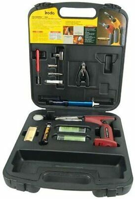 IRODA Solder Pro 180K Multifunction Gas Soldering Iron Gun Tool Kit