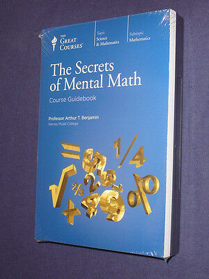 Teaching Co Great Courses DVDs        THE SECRETS of MENTAL MATH    new & sealed