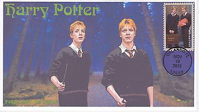 Jvc Cachets -2013 Harry Potter First Day Cover Fdc Topical Wizards Fantasy #16