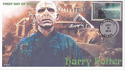 Jvc Cachets -2013 Harry Potter First Day Cover Fdc Topical Wizards Fantasy #18