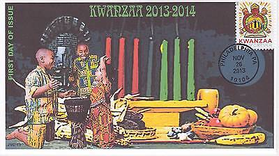 Jvc Cachets -2013 Kwanzaa First Day Cover Fdc Holiday Topical Black Heritage #1