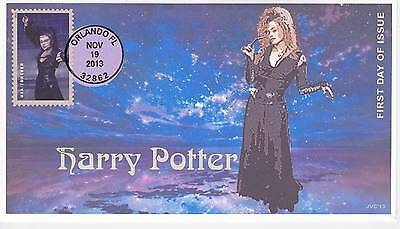 Jvc Cachets -2013 Harry Potter First Day Cover Fdc Topical Wizards Fantasy #19
