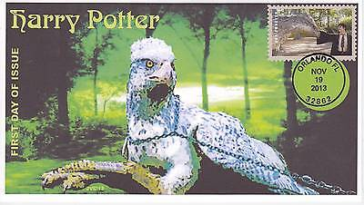 Jvc Cachets -2013 Harry Potter First Day Cover Fdc Topical Wizards Fantasy #8