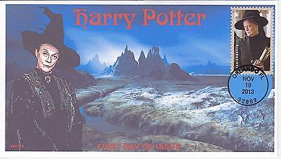 Jvc Cachets -2013 Harry Potter First Day Cover Fdc Topical Wizards Fantasy #4
