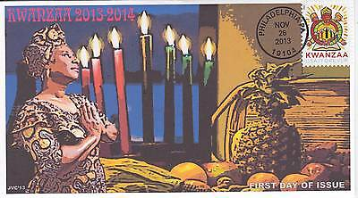 Jvc Cachets -2013 Kwanzaa First Day Cover Fdc Holiday Topical Black Heritage #3