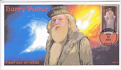 Jvc Cachets -2013 Harry Potter First Day Cover Fdc Topical Wizards Fantasy #13