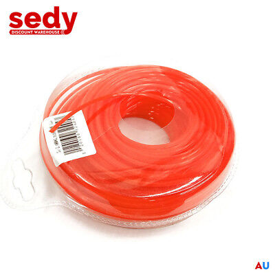 100m String Trimmer Line Whipper Snipper Cord Wire Brush Bush Grass Cutter Nylon